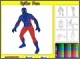 Человек-паук онлайн раскраски