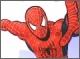 Летящий человек-паук: раскраска