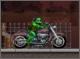 Ниндзя черепашка на мотоцикле