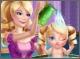 Барби Принцесса: купание малыша