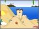 Борьба Морскими Ракушками На Пляже