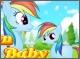 Новорожденная принцесса пони