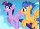 Мои маленькие пони: Искорка и Флеш сторожа