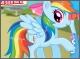 Радуга Дэш: Образ пони против человека