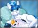 Рождение милого детеныша пони