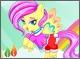 Мои маленькие пони: Радужный стиль для Флаттершай