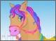 Прическа для лошади